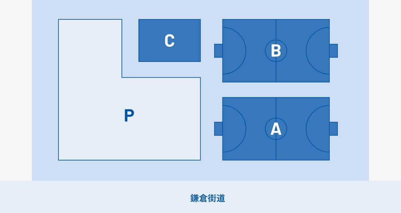 フットサルパークマップ図面